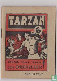 Tarzan vecht tegen een onderzeeër