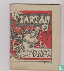 De wilde dieren van Tarzan