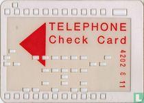 WM'74 Telephone Check Card