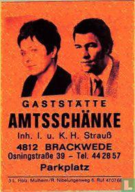 Gaststätte Amstschänke - I.u.K.H. Strauss