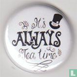 "Noorderzon Tea Garden - ""It's always tea time"" (white)"