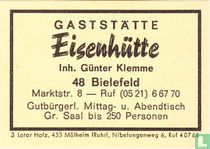 Gaststätte Eisenhütte - Günter Klemme