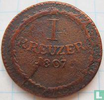 Baden 1 kreuzer 1807