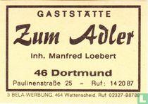 Gaststätte Zum Adler - Manfred Loebert