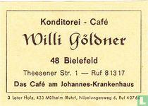 Konditorei - Café Willi Göldner