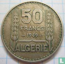 Algeria 50 francs 1949