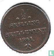 Norwegen ½ Skilling 1841 (Ohne Sterne)