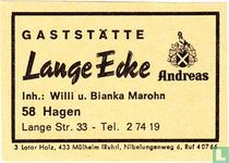Gaststätte Lange Ecke - Willi u. Bianka Marohn