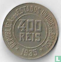 Brasilien 400 Réis 1935