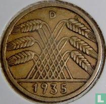 Duitse Rijk 10 reichspfennig 1935 (D)
