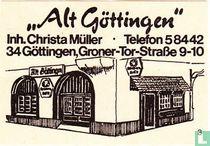 """""""Alt Göttingen"""" - Christa Müller"""