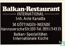 Balkan-restaurant - Ante Karadza