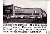 Gaststätte Keglerheim - H. Robrahn