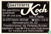 Gaststätte Koch - H. Halfar