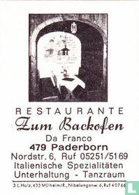 Zum Backofen - Da Franco