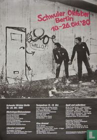 Schwuler Oktober Berlin 10.-26. Okt. '80