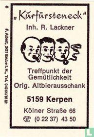 Kurfürsteneck - R. Lackner