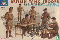 British RAC Tank Troops in the Desert