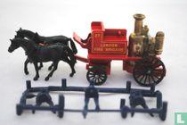 Horse drawn Fire Engine 'London Fire Brigade