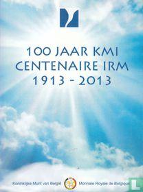 "Belgium 2 euro 2013 (folder) ""100 years of Royal Meteorological Institute"""