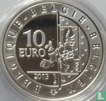 "Belgium 10 euro 2013 (PROOF) ""100 years tour of Flanders"""