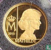 """Belgium 12½ euro 2015 (PROOF) """"Queen Mathilde"""""""