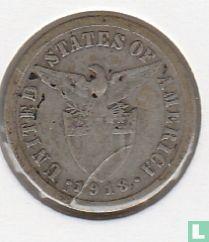 Filipijnen 10 centavos 1918