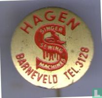 Hagen Barneveld Tel. 3128 Singer Sewing Machines