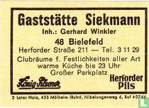 Gaststätte Siekmann - Gerhard Winkler