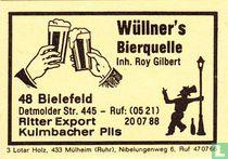 Wüllner's Bierquelle - Roy Gilbert