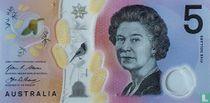 Australië 5 Dollars 2016