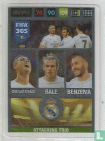 Cristiano Ronaldo/Bale/Benzema