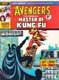 Avengers starring Shang-Chi -- Master of Kung Fu 31