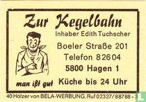 Zur Kegelbahn - Edith Tuchscher