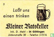 Kleiner Ratsteller - D. Mehl