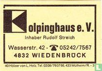 Kolpinghaus e.V. - Rudof Streich