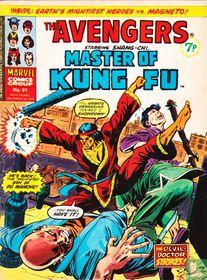 Avengers starring Shang-Chi, Master of Kung Fu 61