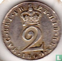 Verenigd Koninkrijk 2 pence 1800