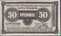 """Alten-Grabow 50 pfennig """"Mannschaftsgefangenenlager"""""""