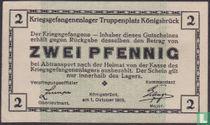 König Bruck 2 pfennig 1915