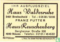 Haus Waldesruhe - Franz Futter - Haus Reuschenberg