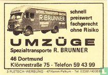 Umzüge - Spezialtransporte R. Brunner