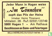 """""""Im Tönnchen"""" - Heinz Thiemann"""