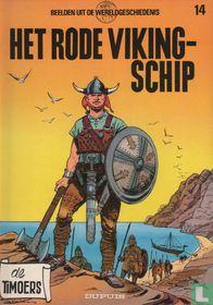 Het rode Vikingschip
