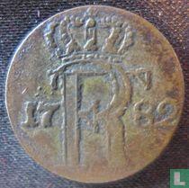 Pruisen 1/24 thaler 1782 (A - sterren)