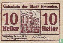 Gmunden 10 Heller 1919