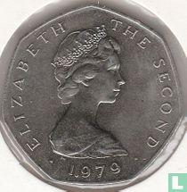 "Man 50 pence 1979 (koper-nikkel - geschreven rand - AB) ""Manx Day of Tynwald - July 5"""