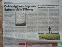 Cel dreigt voor top van Satudarah in Tilburg