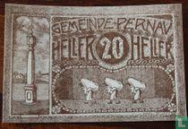 Pernau 20 Heller 1920
