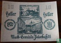 Peuerbach 10 Heller 1920
